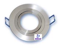 Aro empotrar redondo basculante aluminio