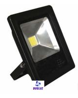 Proyector ultraplano LED 10W alto brillo 6400K -