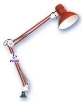 Flexo tipo arquitecto pinza E-27 Rojo -