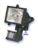 Proyector Halogeno Detector 150W Negro C/Lampara -