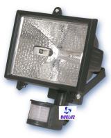 Proyector Halogeno Detector 500W Negro C/Lampara -