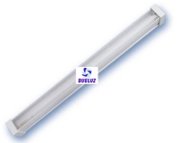 Difusor Panal 1 x 36W cantonera blanca -