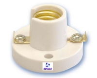Portalamparas base E-14 Blanco -