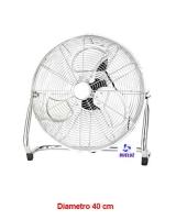 Ventilador Suelo Industrial  40 cm diametro -