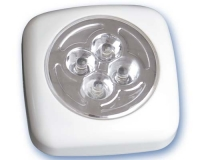 Pushlight cuadrado 4 LEDs -