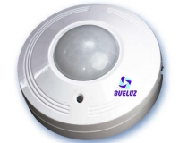 Detector movimiento Superficie 360º Blanco (LED)