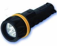 Linterna 3 Leds de Goma (2 pilas LR20-D) -