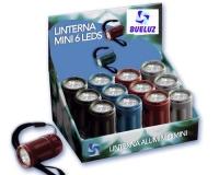 Linterna Aluminio 6 LEDs -