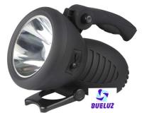 Linterna cañon luz LED recargable. -