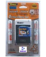 Cargador rapido con pantalla LCD -