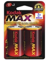 Pila Kodak Alkalina (D) LR20