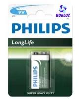 Pila Philips Salina (9V) 6F22 -