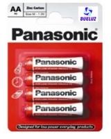 Pila Panasonic Salina (AA) R6 Roja -