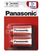 Pila Panasonic Salina (C) R14 Roja -
