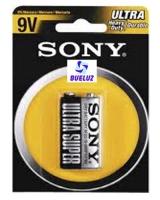 Pila Sony Salina (9V) 6F22