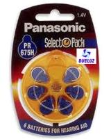 Pila Panasonic Audifono PR675 -