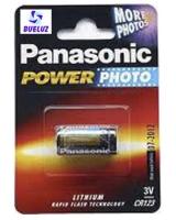 Pila Panasonic Alcalina CR123 3V -