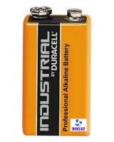 Pila Alkalina Duracell Industrial 6LR61 (9V) -