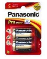 Pila Panasonic Alkalina (C) LR14 PRO-ORO -