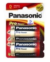 Pila Panasonic Alkalina (D) LR20 PRO-ORO -