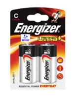 Pila Alkalina Energizer Ultra+ LR14 (C) -