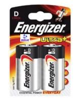 Pila Alkalina Energizer Ultra+ LR20 (D) -