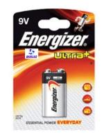 Pila Alkalina Energizer Ultra+ 6LR61 (9V) -