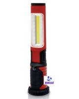 Linterna portatil de LED recargable abatible   -