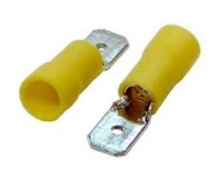 Terminal Faston Macho 6,3 x 0,8 Amarillo -