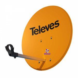 Antena Parabolica Satelite 630 Aluminio