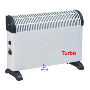 Convector Calefactor Turbo 750W-1250W-2000W