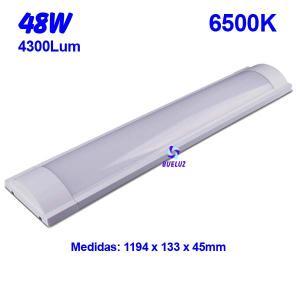 Regleta Led superficie 48W 6500K -