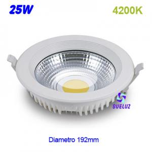 DOWNLIGHT LED 25W COB 4200K