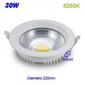 DOWNLIGHT LED 30W COB 4200K