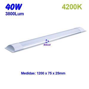 Regleta Led superficie 40W 4200K