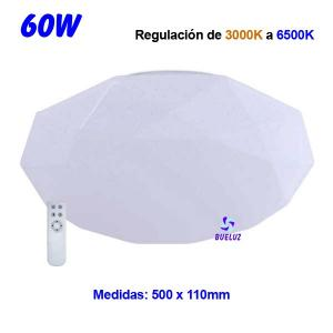 PLAFON LED DIAMOND 40W REGULABLE