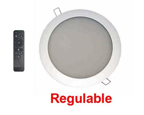 Downlight LED 18W extraplano blanco 4200K Regulable -