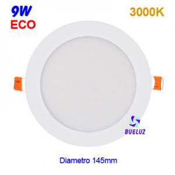 Downlight LED 9W extraplano Blanco 6000K -