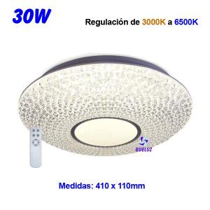 PLAFON LED FILIGRANA 30W REGULABLE