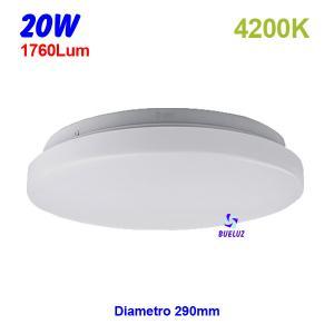 PLAFON LED 20W 4200K