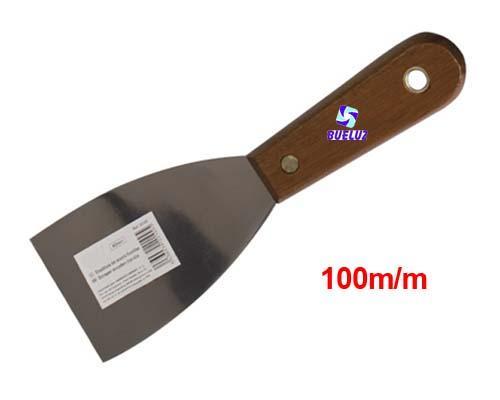 Espatula mango madera 100mm -