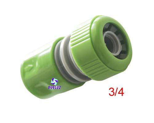 Conector rapido para manguera PVC 3/4