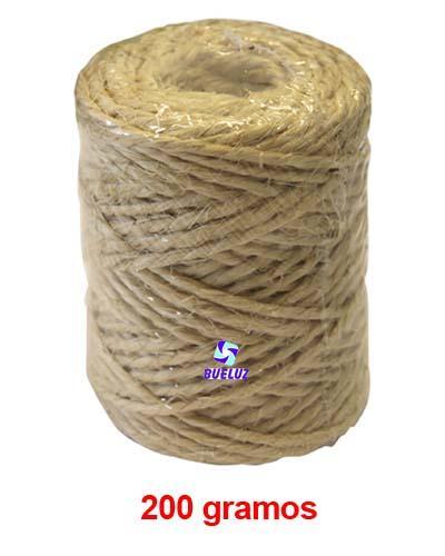 Cuerda de Pita 2,5mm 48mts 200 gramos -