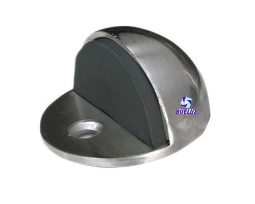 Tope de puerta metalico semiesferico Niquel Satin -
