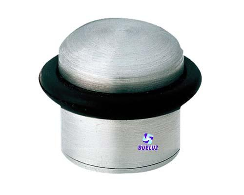 Tope de puerta metalico cilindrico Niquel Satin -