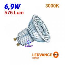 DICROICA LED GU-10 6,9W 3000K 36º