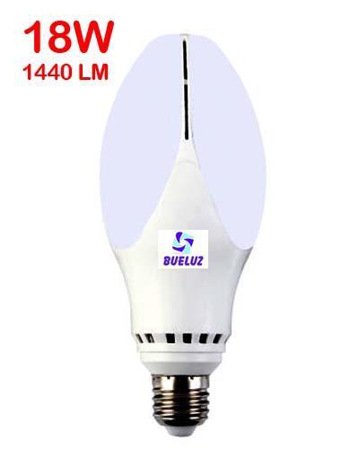 Lampara LED alta potencia 18W E-27 2700K