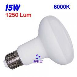 REFLECTORA LED R-90 E27 15W 6000K