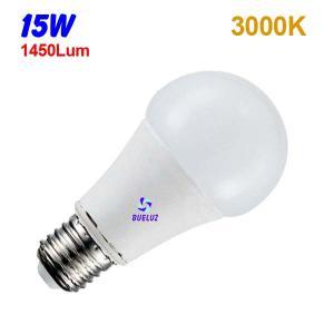 Standar LED E-27 15W Mate 3000ºK