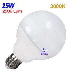 GLOBO LED 25W 120mm E-27 3000ºK